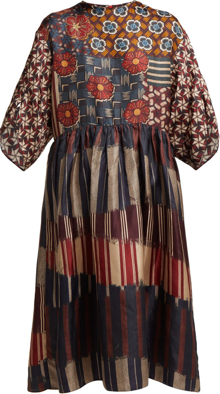 Biyan Lilo silk dress