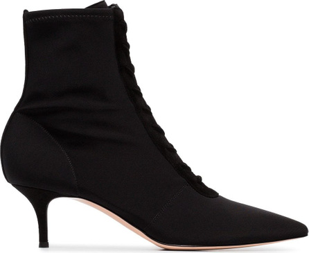 Gianvito Rossi 55 Lace-up Ankle Boots