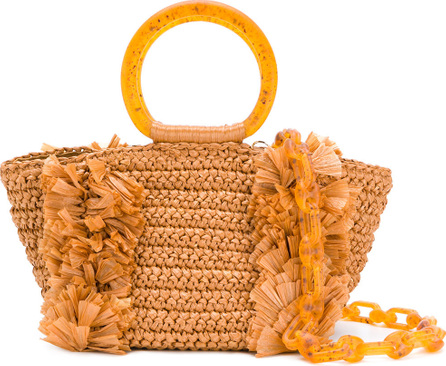 Carolina Santo Domingo Woven tote