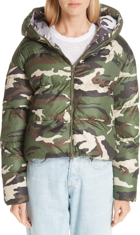 Bacon Cloud Camo Down Puffer Jacket