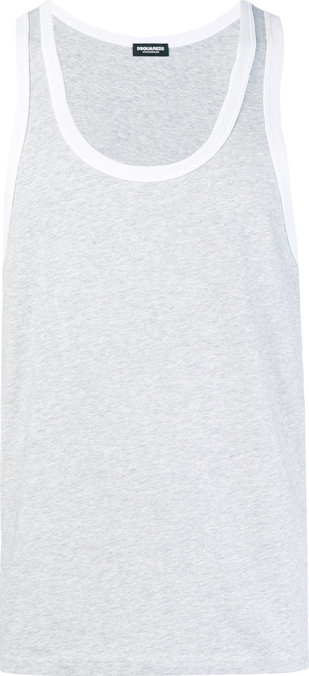 DSQUARED2 Contrast trim tank top