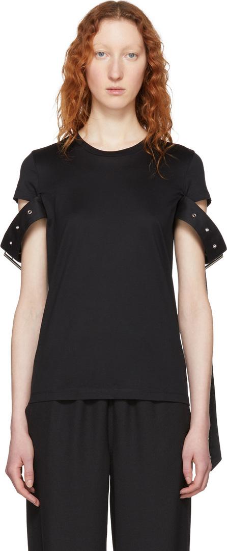 Marques'Almeida Black Belt Sleeve T-Shirt