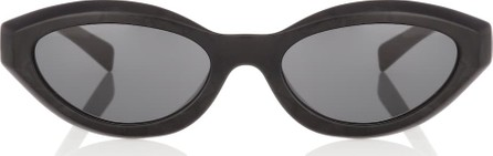 Alexandre Vauthier x Alain Mikli oval sunglasses