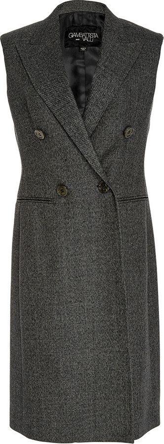 Giambattista Valli Double Breasted Vest