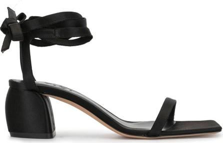 Tibi Shyah satin sandals