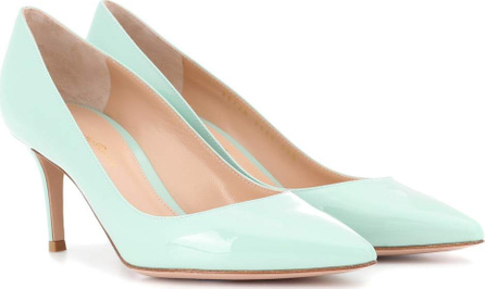 Gianvito Rossi Exclusive to mytheresa.com – Gianvito 70 leather pumps