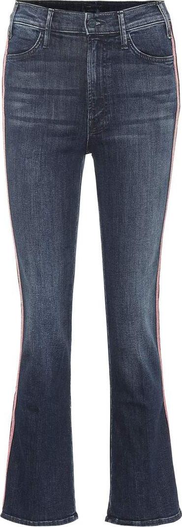 MOTHER Hustler high-rise flared jeans