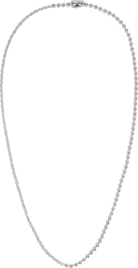 Goodfight Silver Bead Necklace
