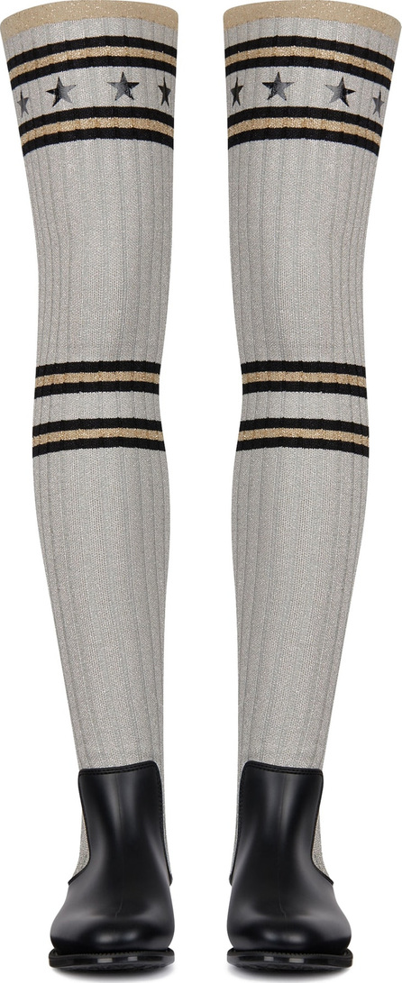 Givenchy Storm Over the Knee Rain Boot