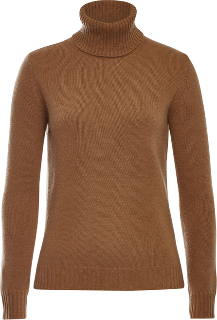 Max Mara Ellisse Turtleneck Pullover in Wool and Cashmere