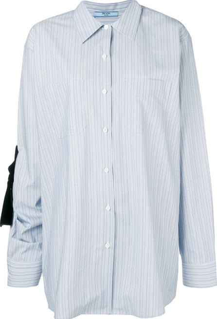 Prada Oversized striped shirt