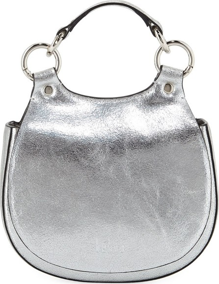 Behno Tilda Mini Metallic Top Handle Bag