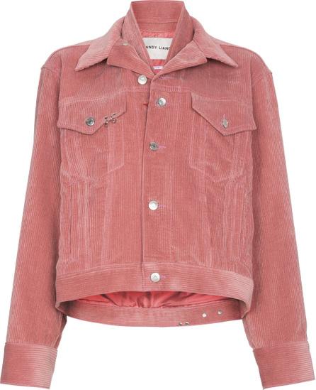 Sandy Liang Pink corduroy jacket