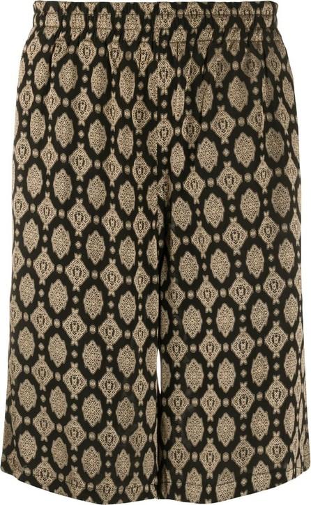 Needles Geometric knee-length shorts