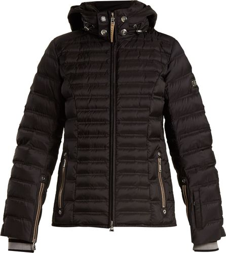 Bogner Nasha hooded quilted-down ski jacket