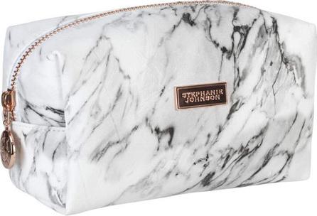 Stephanie Johnson Carrara Grey Iris Small Cosmetic Bag