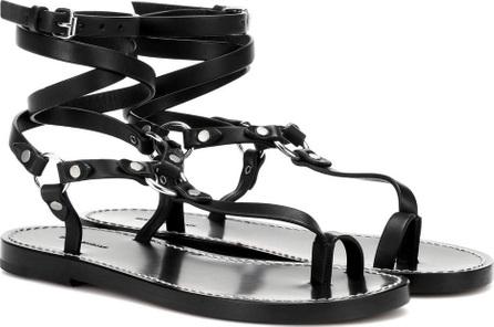 Isabel Marant Joxxy embellished leather sandals