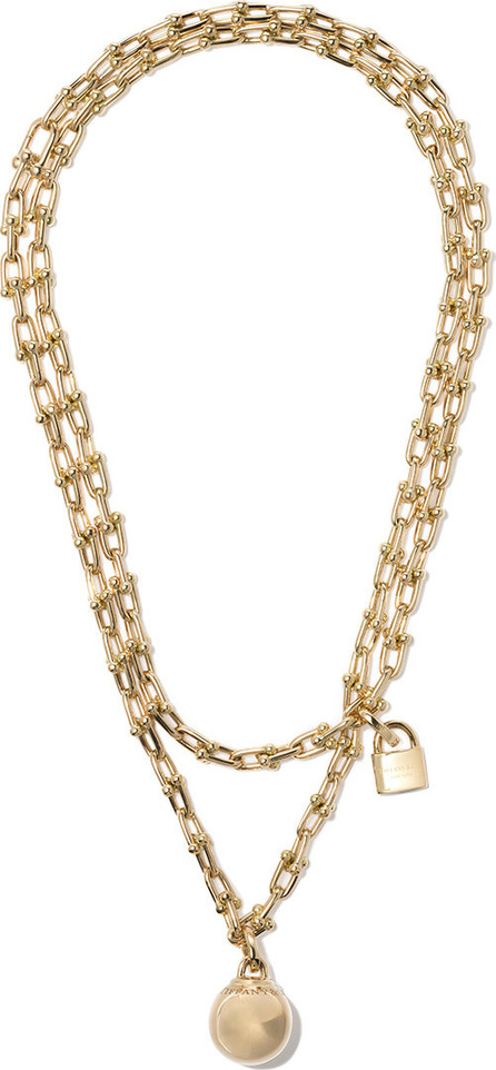 Tiffany & Co 18kt yellow gold Tiffany City HardWear wrap necklace