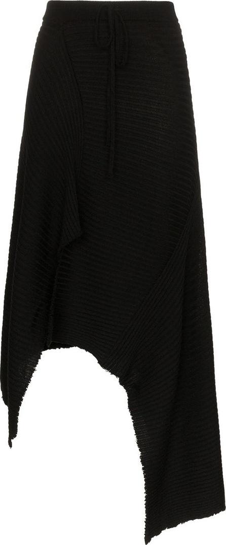 Marques'Almeida Asymmetric merino wool skirt