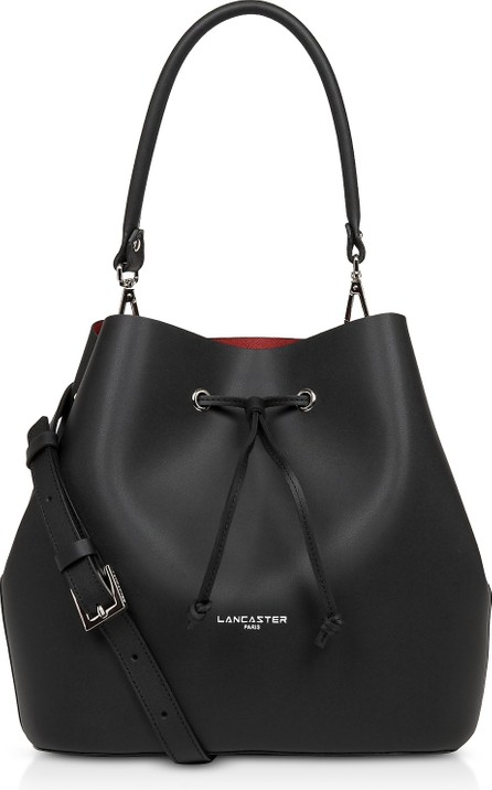 Lancaster Pur & Elements City Top-Handle Bucket Bag