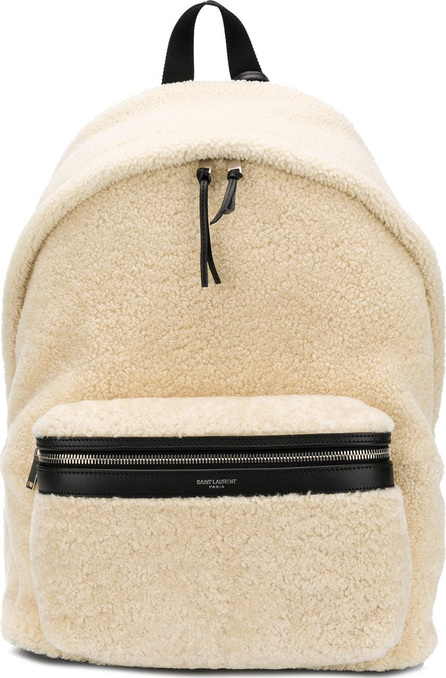 Saint Laurent Fleece backpack