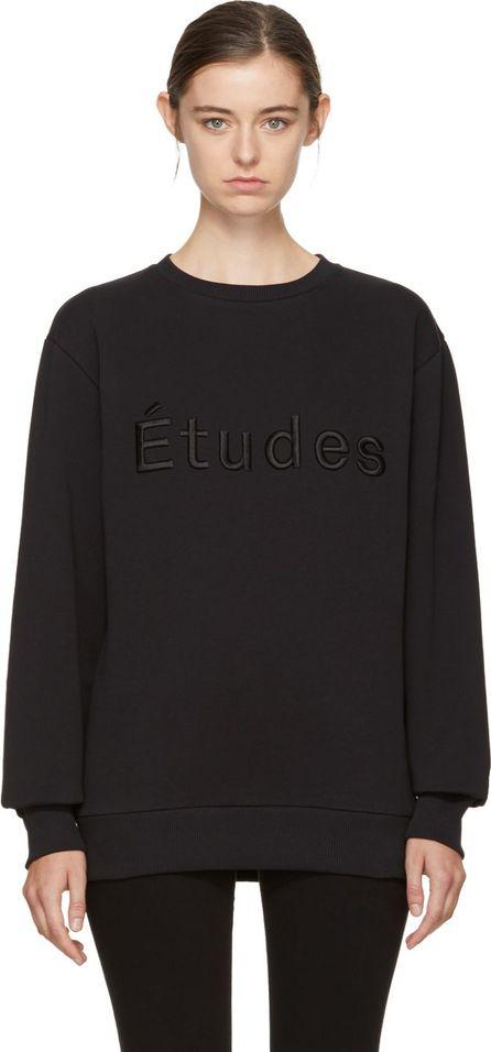 Etudes Black Étoile Logo Sweatshirt
