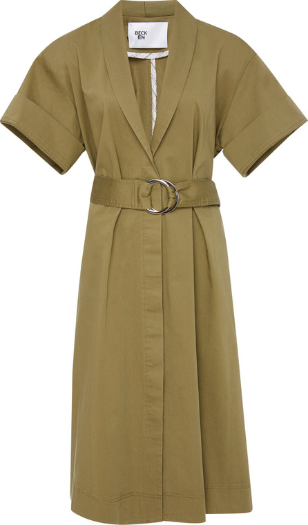 Becken Lightweight Canvas Tied Wrap Dress
