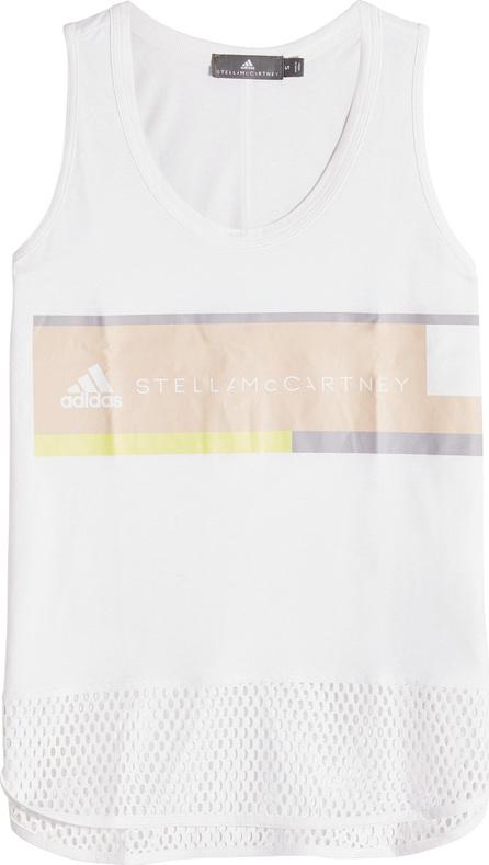 Adidas By Stella McCartney Essential Logo Tank in Organic Cotton