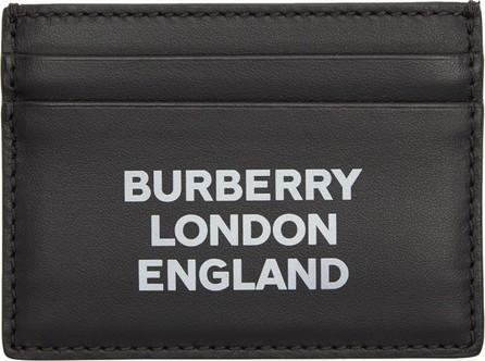 Burberry London England Black Sandon Card Holder