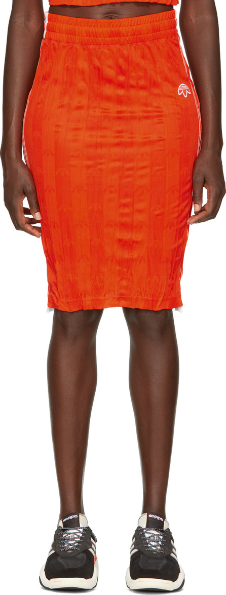 Adidas Originals by Alexander Wang Orange Track Skirt