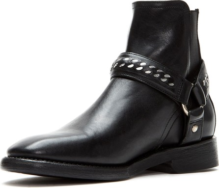 Frye Men's Weston Chain-Harness Leather Boots