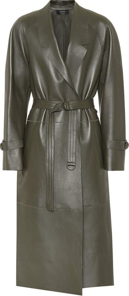 Joseph Solferino leather coat