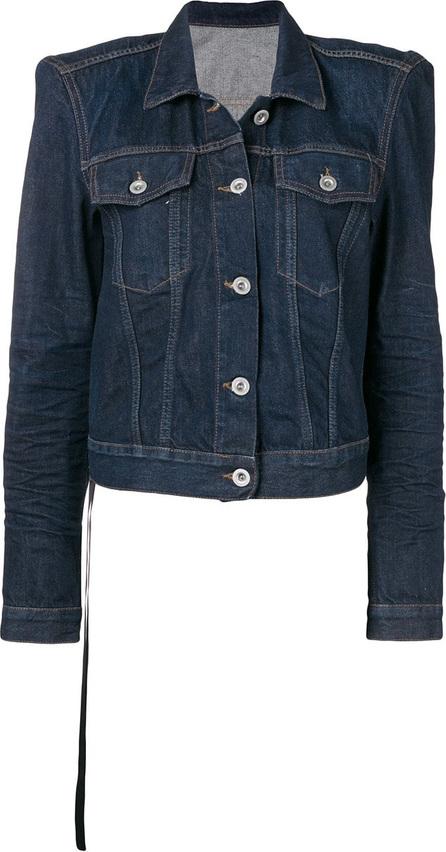 Ben Taverniti Unravel Project Stone washed structured shoulder jacket