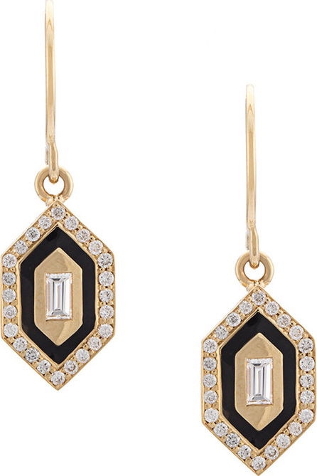 Azlee N/S small diamond earrings