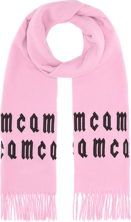 McQ - Alexander McQueen Embroidered wool scarf