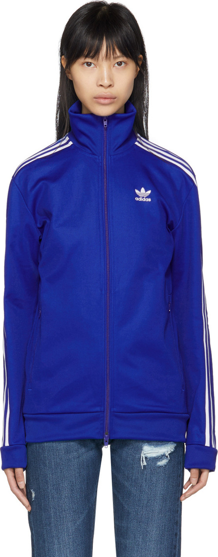 Adidas Originals Blue Franz Beckenbauer Track Jacket