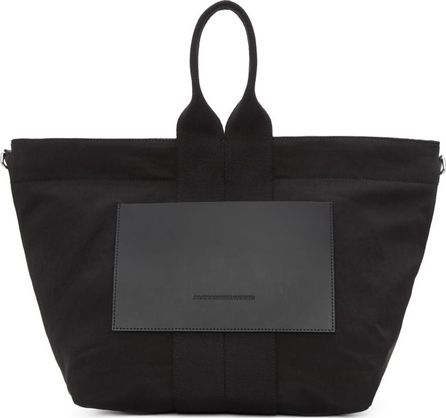 Alexander Wang Black Small Washed Satin Tote