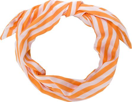 Cult Gaia Striped head scarf
