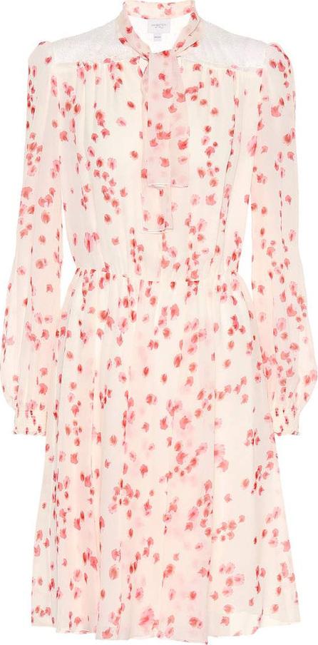 Giambattista Valli Floral-printed silk dress
