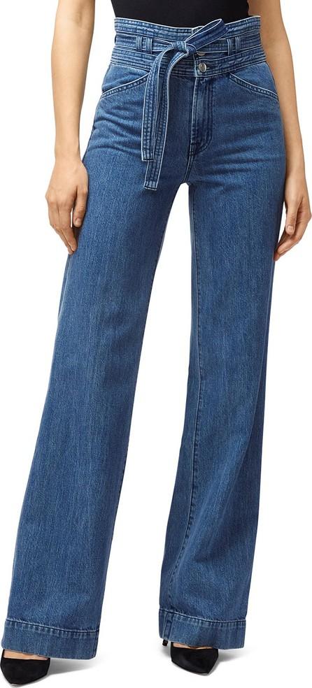 J BRAND Sukey Belted High-Waist Denim Pants