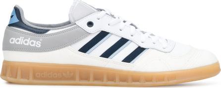 Adidas Liga-style lace-up trainers