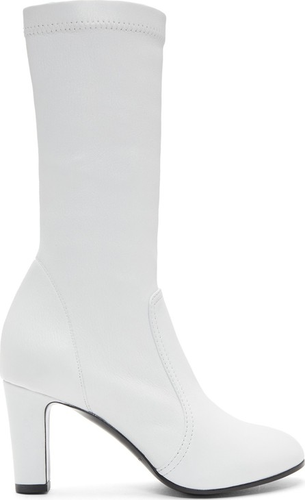 A_Plan_Application White Low Stretch Boots