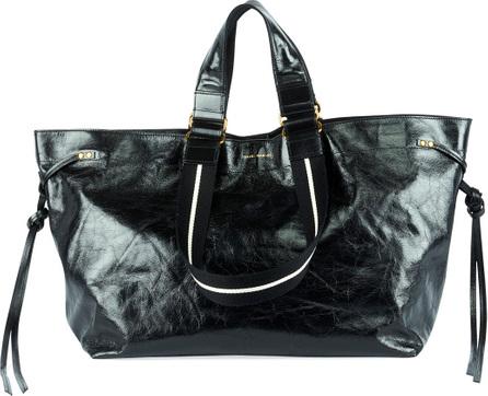 Isabel Marant Wardy Iconic Leather Shopper Tote Bag