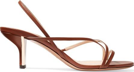 Nicholas Kirkwood Leeloo leather slingback sandals