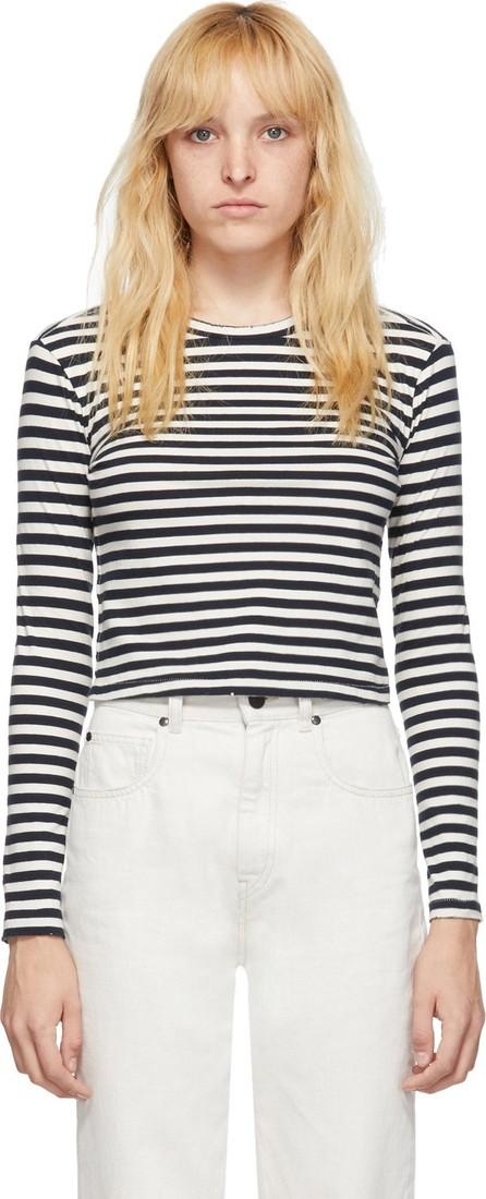 AMO Black & White Babe Long Sleeve T-Shirt