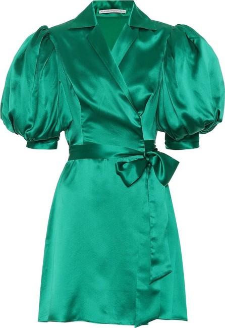 Alessandra Rich Silk satin minidress