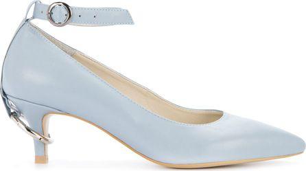 Nina Zarqua ankle strap pointed pumps