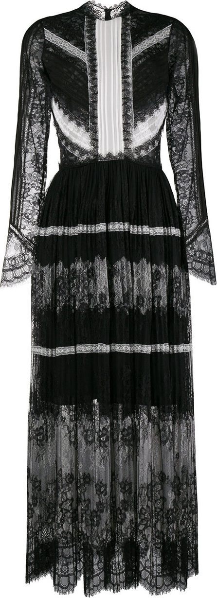 Ermanno Scervino Lace pattern evening dress