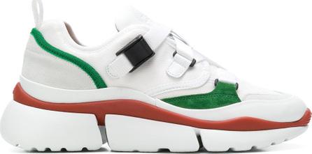 Chloe Platform lace-up sneakers