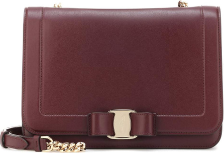 Salvatore Ferragamo Vara Small leather shoulder bag
